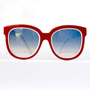 BALENCIAGA 0106/S Oversized 1960s Retro Sunglasses